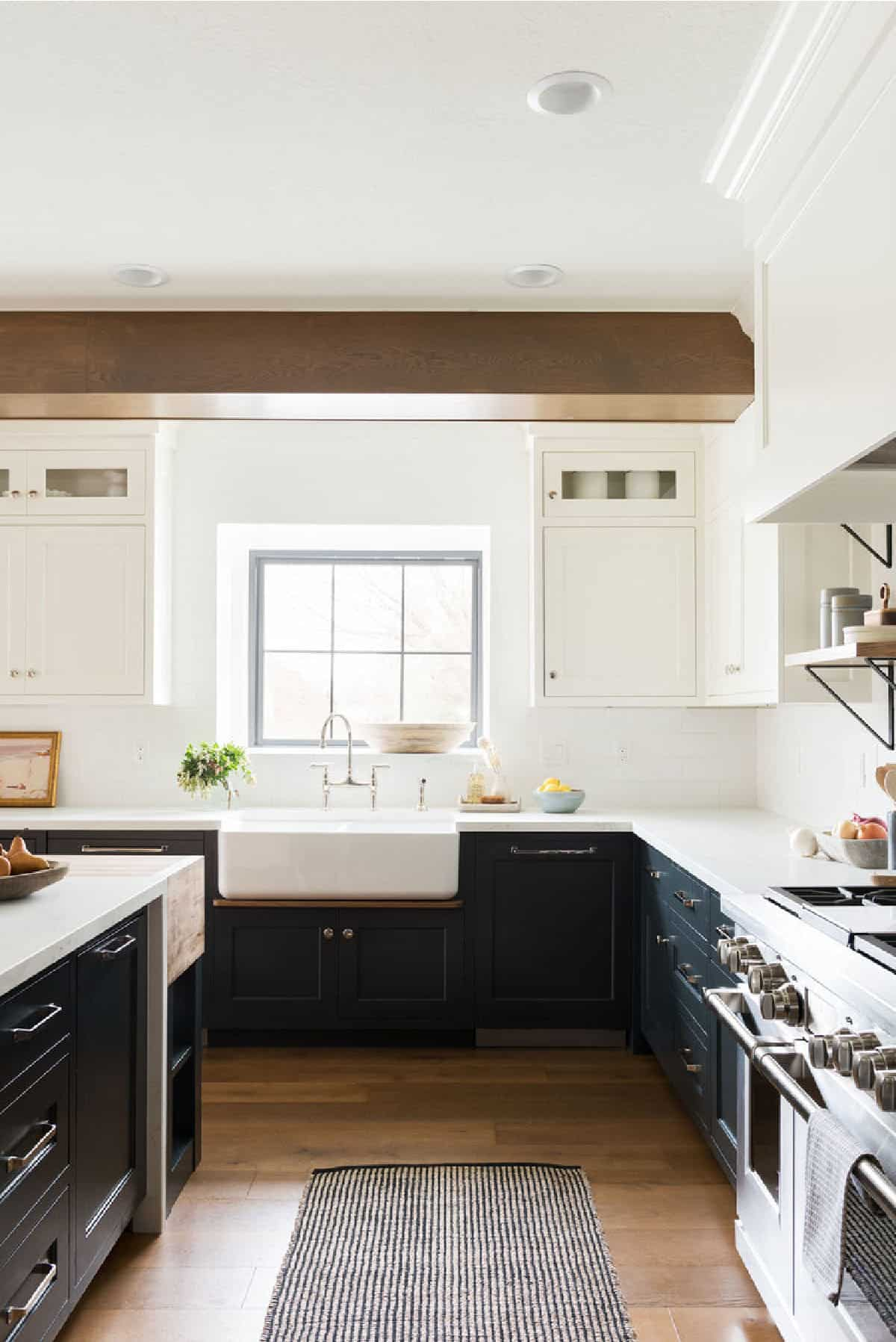 Studio McGee white kitchen