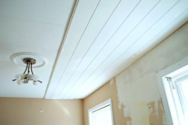 Kitchen Plank Ceiling Inspiration Chatfield Court