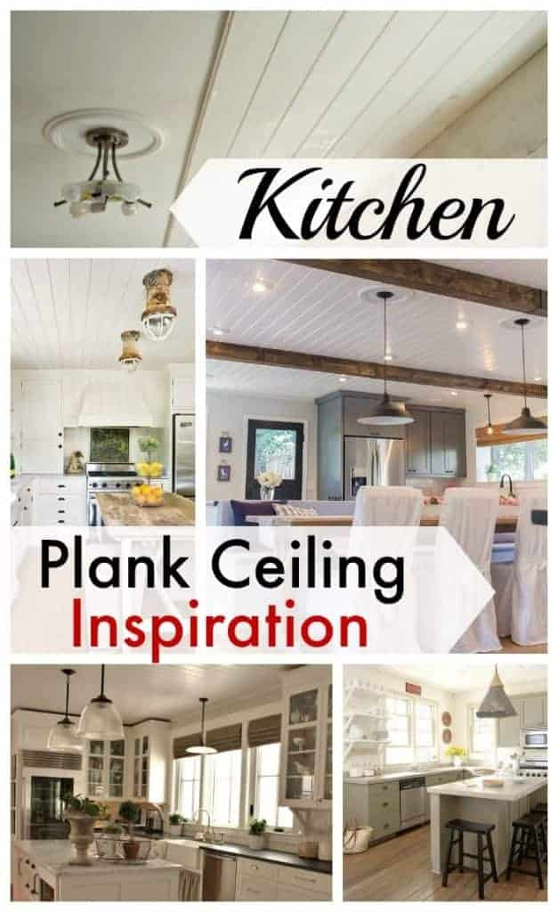 Kitchen plank ceiling inspiration. | www.chatfieldcourt.com