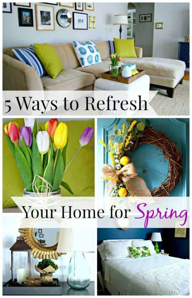 5 Ways to Refresh Your Home for Spring | chatfieldcourt.com