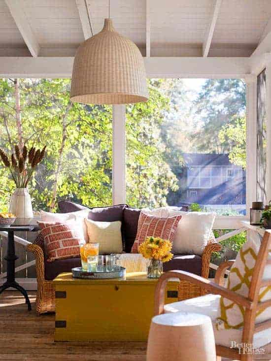 Small but beautiful outdoor spaces for Creating an outdoor living space