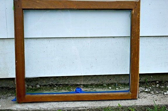 Foyer Mirror Quest : Turn an old window into a mirror chatfield court