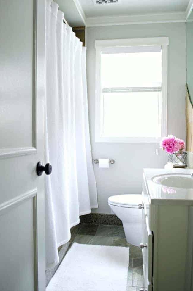 Home tour bathroom