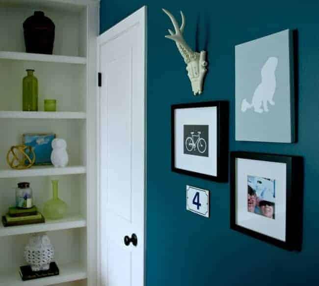 Guest Bedroom Gallery Wall - chatfieldcourt.com