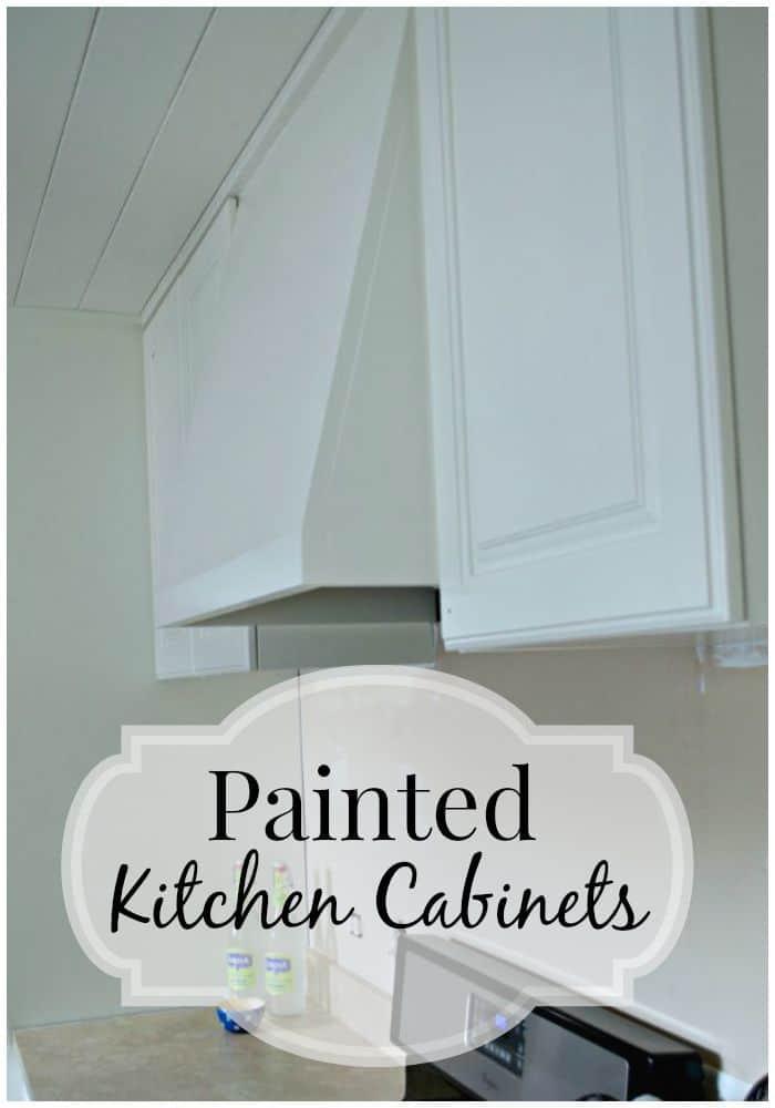 Dark cabinets go white in this small galley kitchen | chatfieldcourt.com