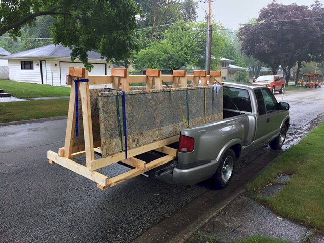 How To Transport Granite Countertops