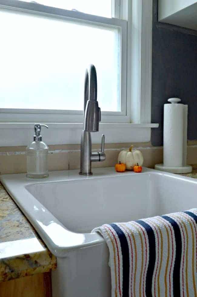 Kitchen Reno: New Kitchen Sink | chatfieldcourt.com