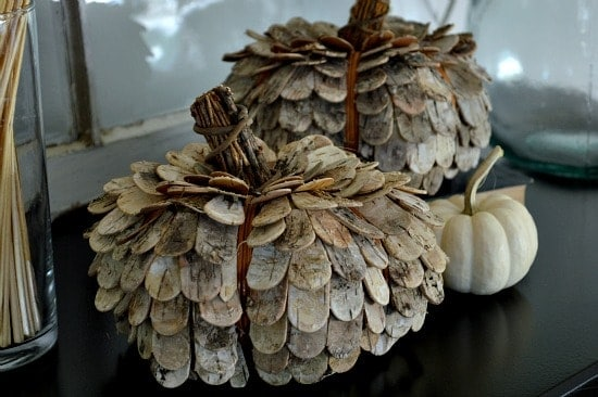 Rustic Natural Pumpkins