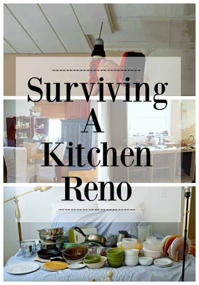Surviving a Kitchen Reno | chatfieldcourt.com