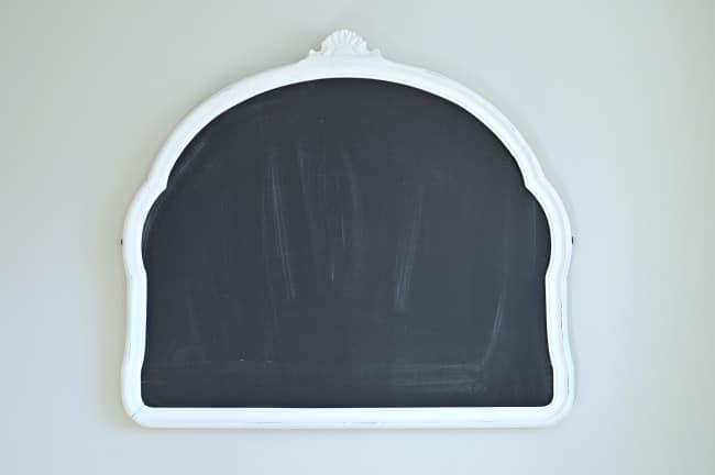 Easy chalkboard calendar before| chatfieldcourt.com