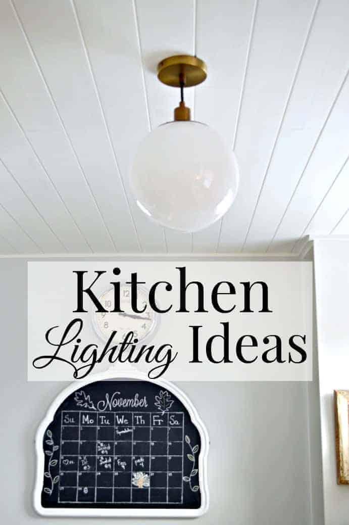 Lighting ideas for a small galley kitchen. | chatfieldcourt.com