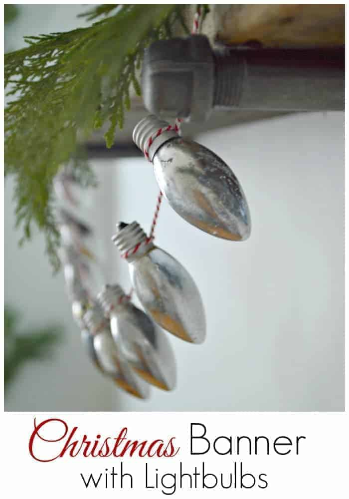 christmas lightbulb banner pinterest 3
