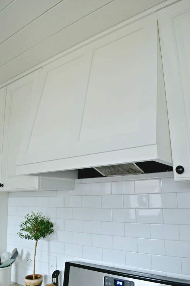 DIY custom range hood for less than $50. | chatfieldcourt.com