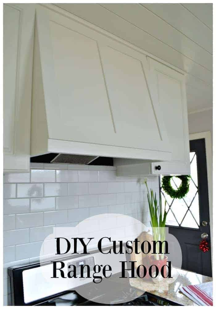 DIY custom range hood for under $50. | chatfieldcourt.com