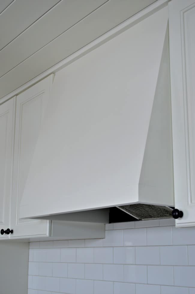 Make a DIY custom range hood for less than $50. | chatfieldcourt.com