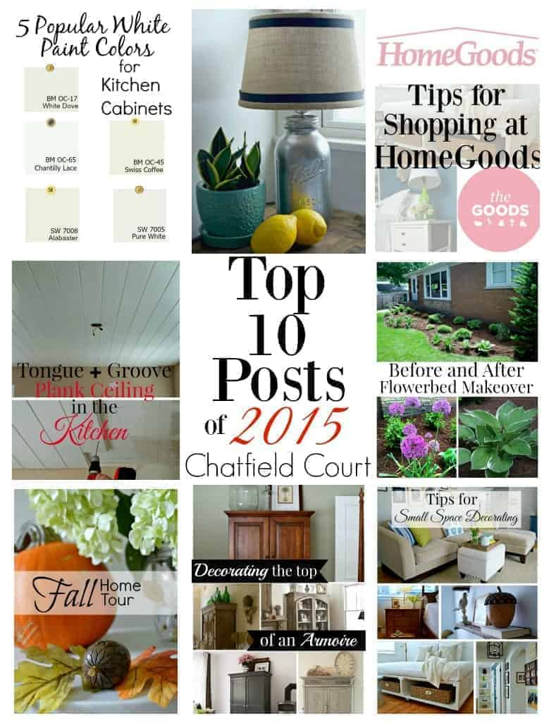 Chatfield Court top posts of 2015 | chatfieldcourt.com