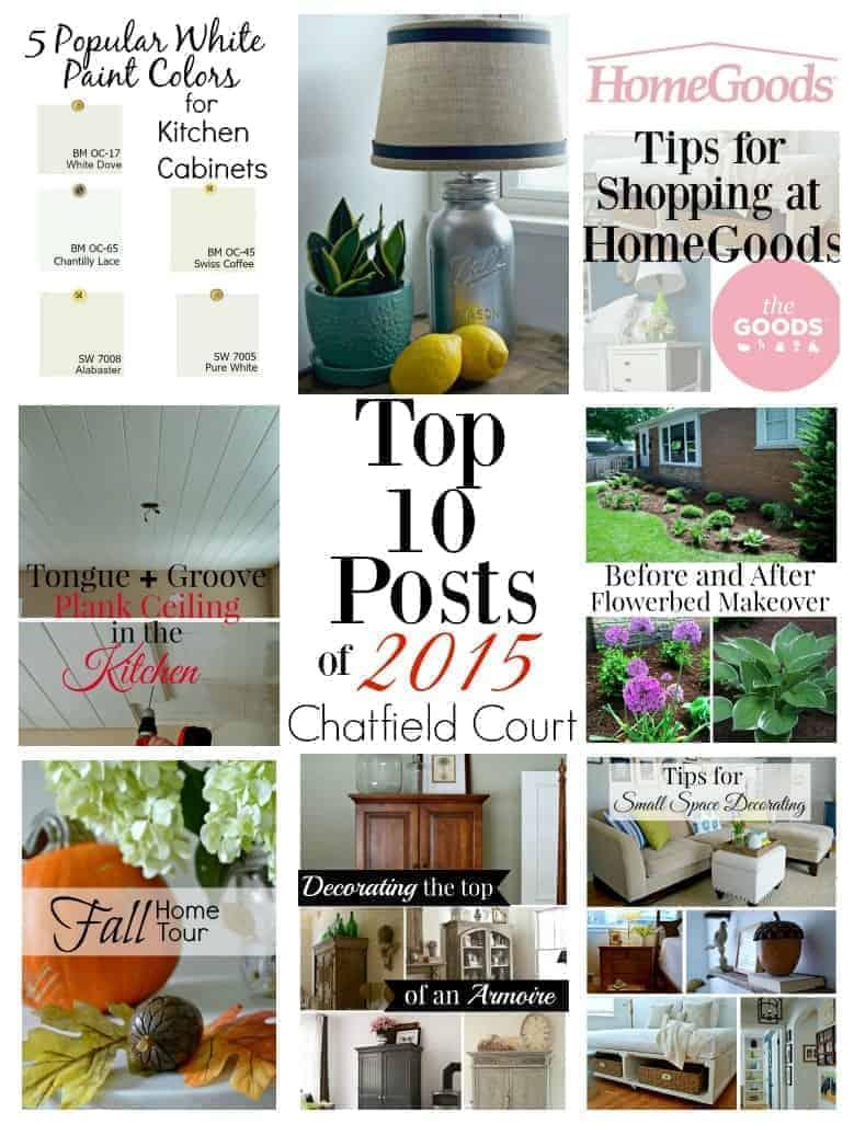 Chatfield Court top posts of 2015 | www.chatfieldcourt.com