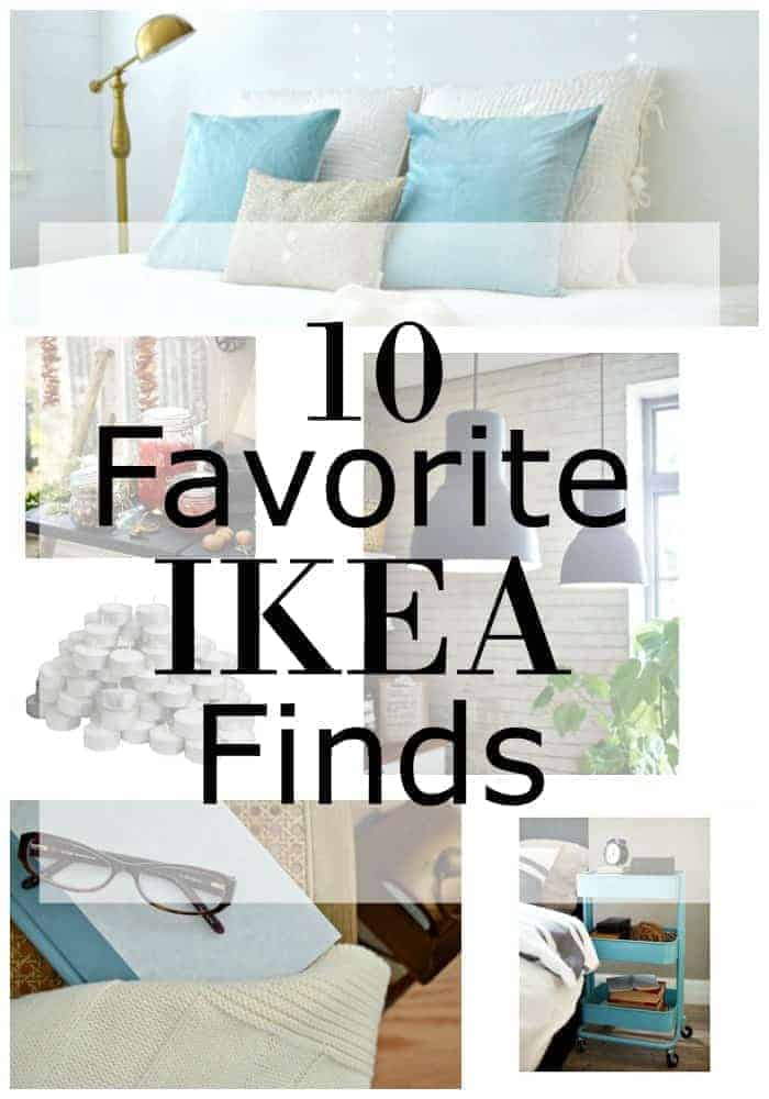 Love shopping at IKEA? I'm sharing 10 of my favorite IKEA finds. | chatfieldcourt.com