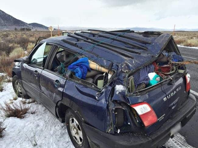 Our youngest daughter was in an accident with her Subaru Forrester   chatfieldcourt.com
