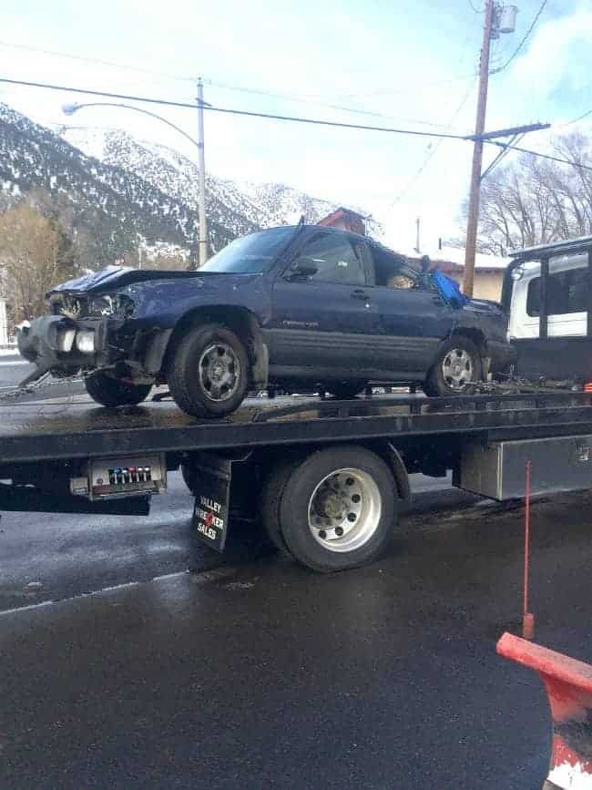 My daughter was in an accident with her Subaru Forrester   chatfieldcourt.com