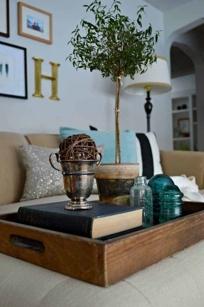 Beat the winter blues by adding an icy color and a little sparkle to your decor | chatfieldcourt.com