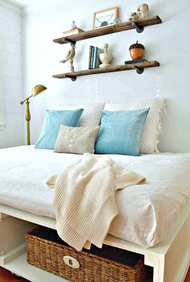 Beat the winter blues by adding an icy color and a bit of sparkle to your room | chatfieldcourt.com