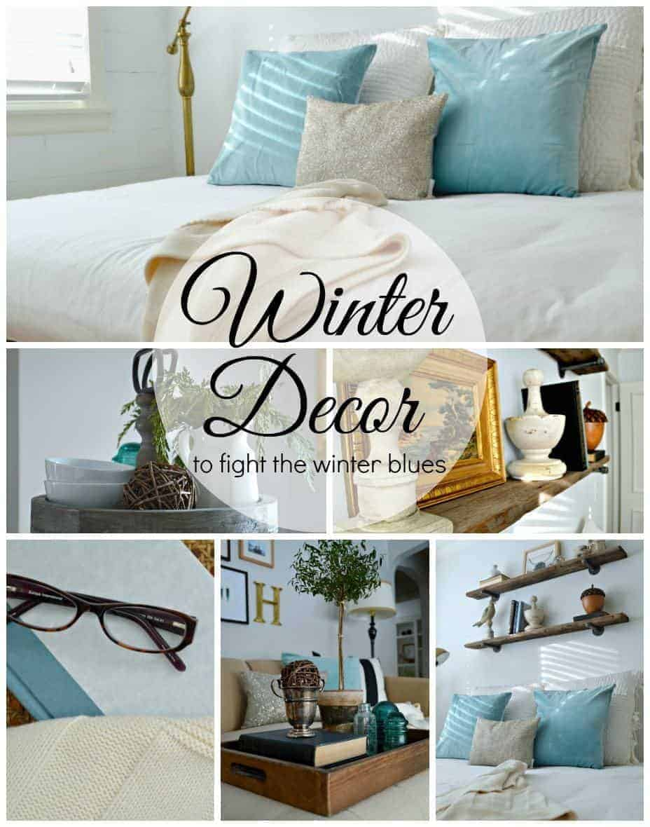 Beat the winter blues by adding an icy color and sparkle to your decor | chatfieldcourt.com