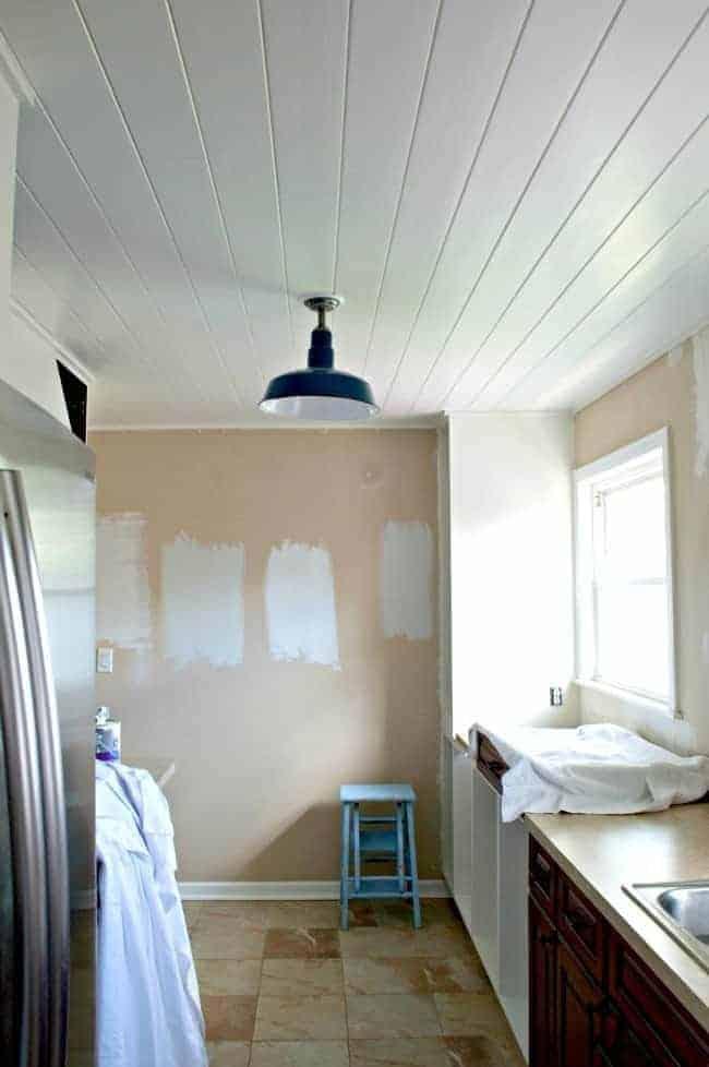 Adding recessed lighting to a small, dark kitchen. | chatfieldcourt.com