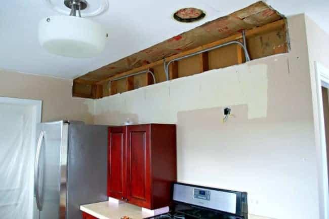 Kitchen remodel details about soffit removal | chatfieldcourt.com