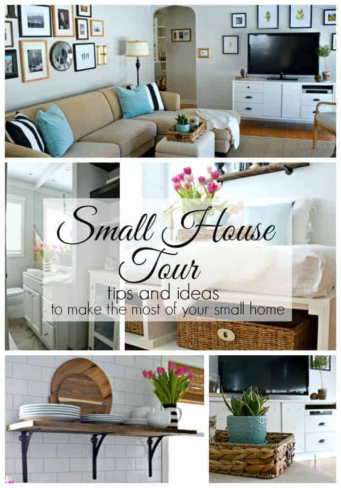 A small house tour with tons of tips and ideas to make the most of your small home. | chatfieldcourt.com