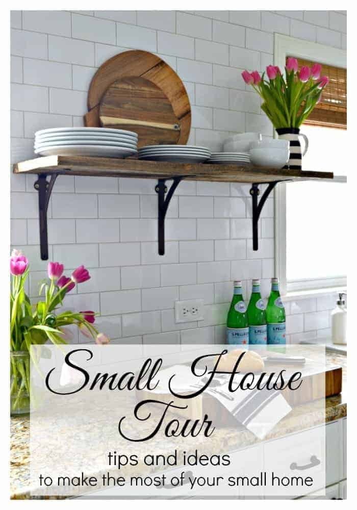 A small house tour with tons of tips and ideas to help you make the most of your small space.   chatfieldcourt.com