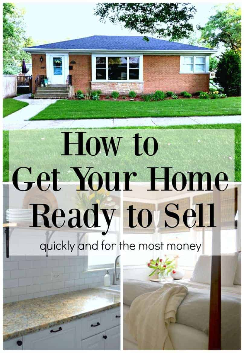 How to get your home ready to sell, quickly and for the most money. | chatfieldcourt.com