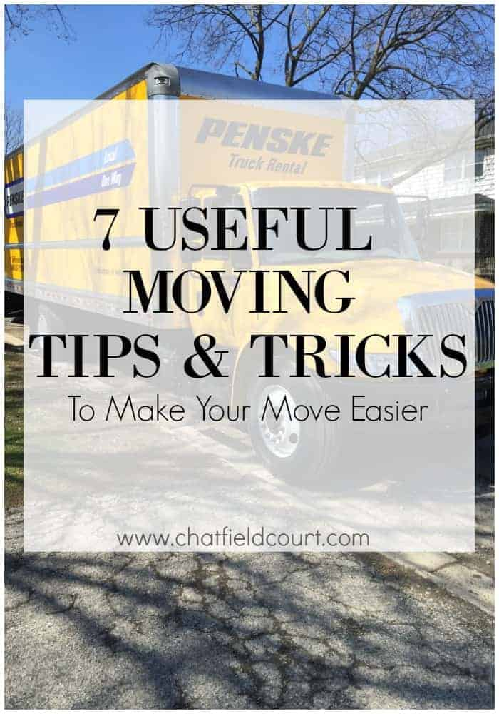 7 useful moving tips and tricks to make your move easier. | chatfieldcourt.com