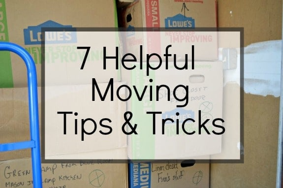 7 Helpful Moving Tips and Tricks