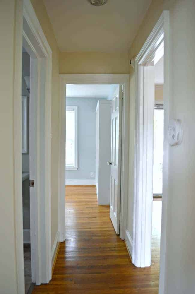Small hallway decorating ideas. Before pics.