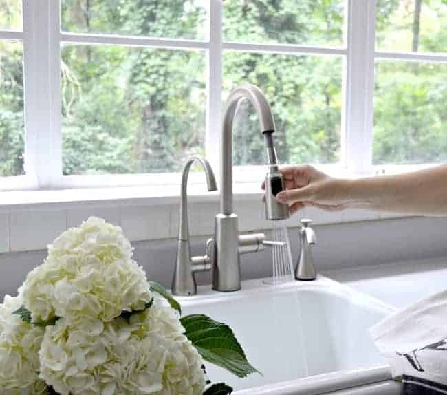 Installing a beautiful new kitchen faucet from Moen. A DIY project that anyone can tackle. chatfieldcourt.com