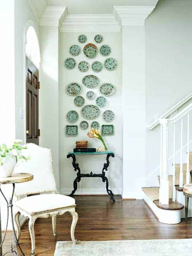 Narrow Wall Decoration Ideas : Small hallway decorating ideas