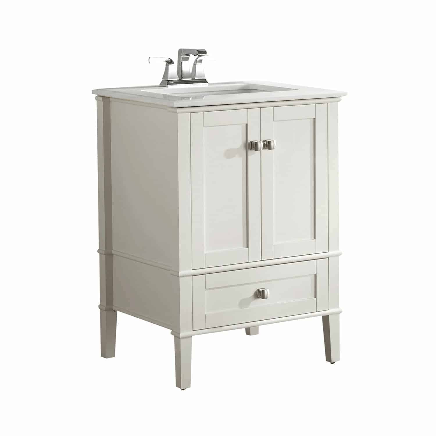 "Amazon Simpli Home Chelsea 24"" vanity."