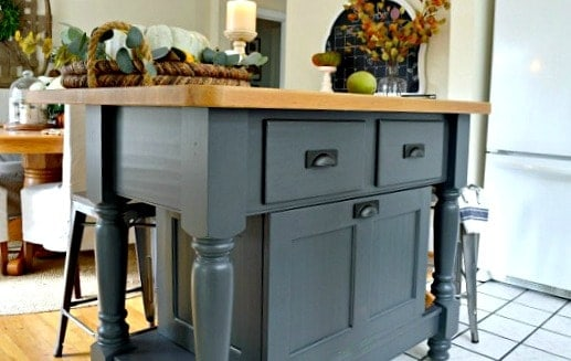 Easy Kitchen Island Makeover