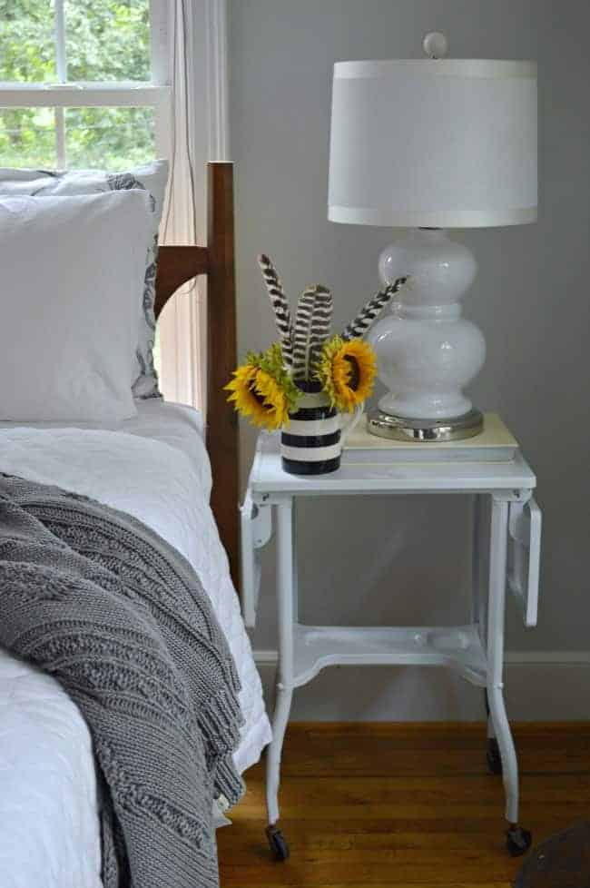 DIY Nightstand, shared by Chatfield Court at The Chicken Chick's Clever Chicks Blog Hop