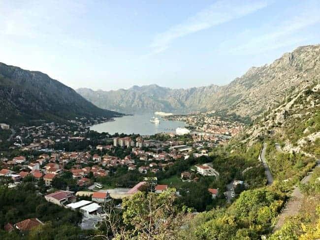 Visiting the stunning Kotor, Montenegro on our 2 week Mediterranean cruise.