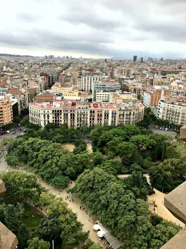 Our Mediterranean cruise to Barcelona, Spain.