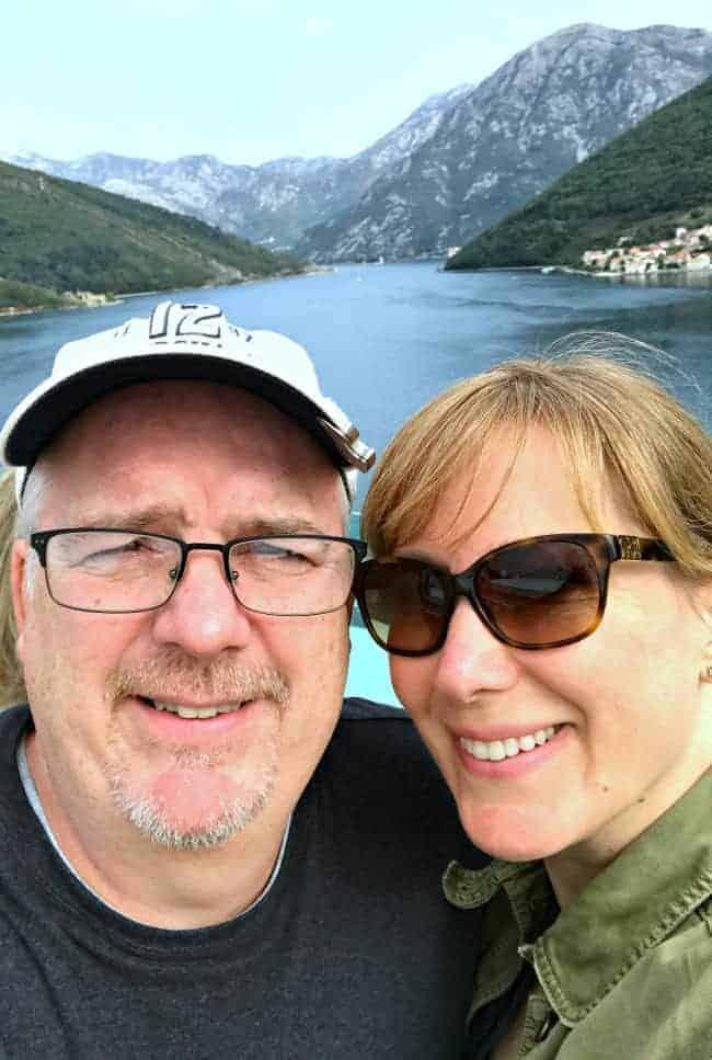 Visiting Kotor, Montenegro on our 2 week Mediterranean cruise.