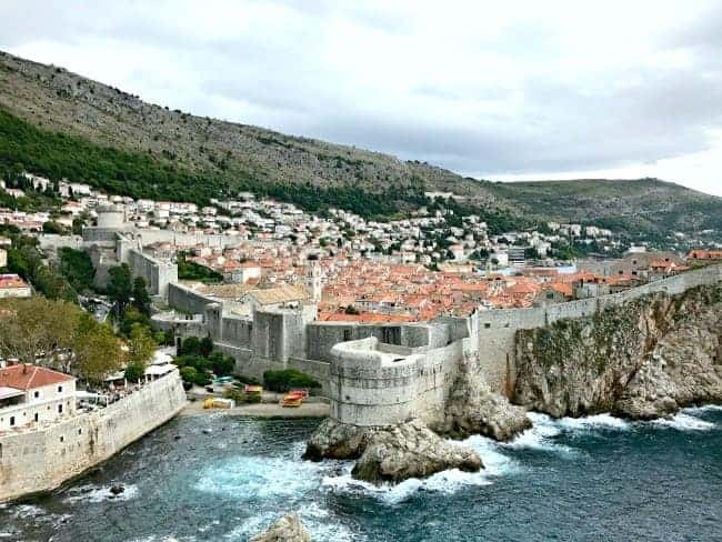 Visiting Dubrovnik, Croatia on our 2 week Mediterranean cruise.