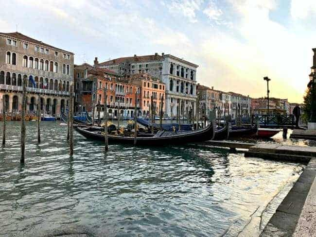 Visiting Venice, Italy on our 2 week Mediterranean cruise.