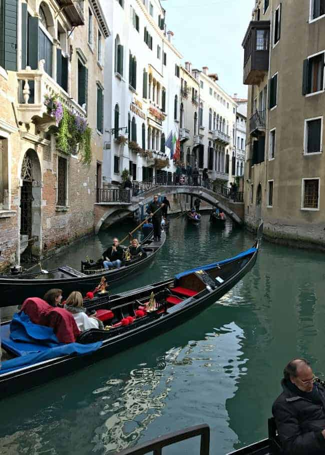 Visiting beautiful Venice, Italy on our 2 week Mediterranean cruise.