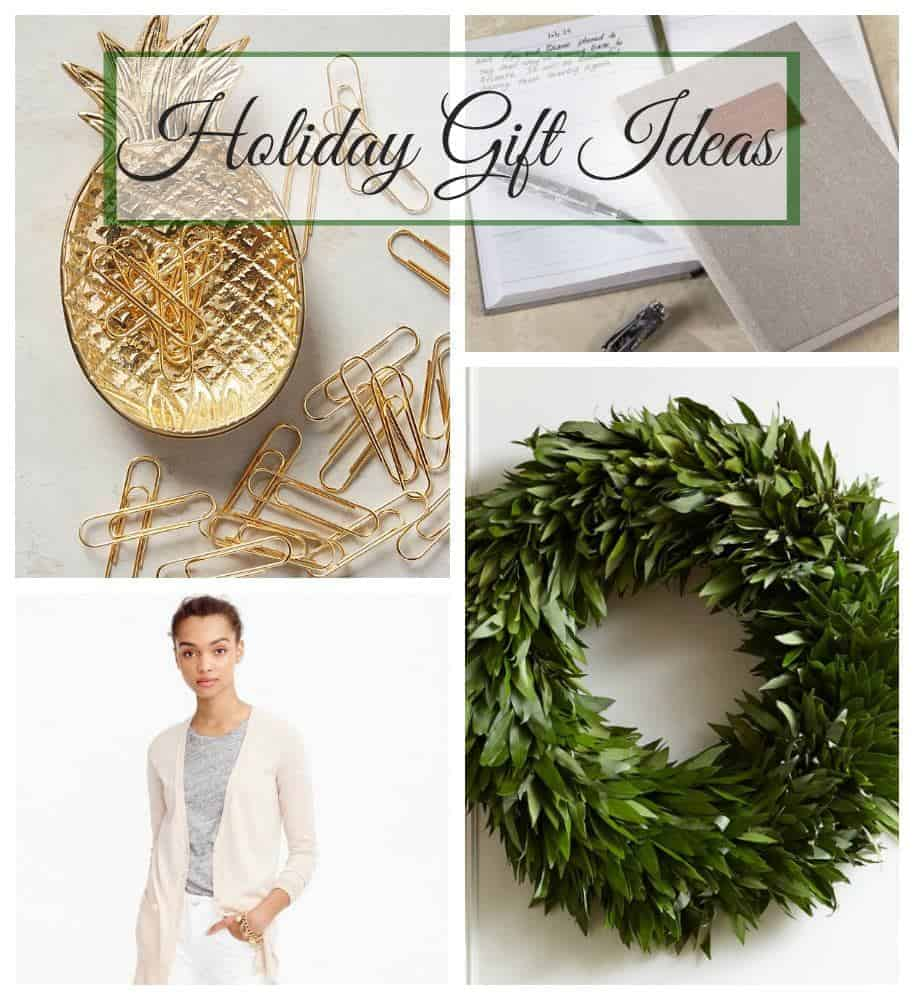 Holiday gift ideas that include home decor, technology and a bit of fashion, plus a few Christmas shopping tips.
