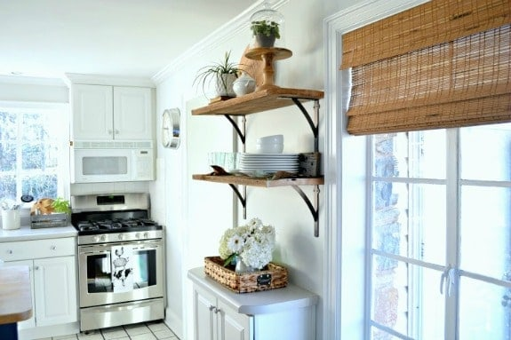 Diy Kitchen Open Shelving For Under 50 Chatfield Court