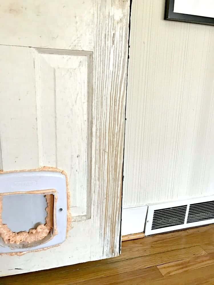 Replace an interior basement door | Chatfield Court