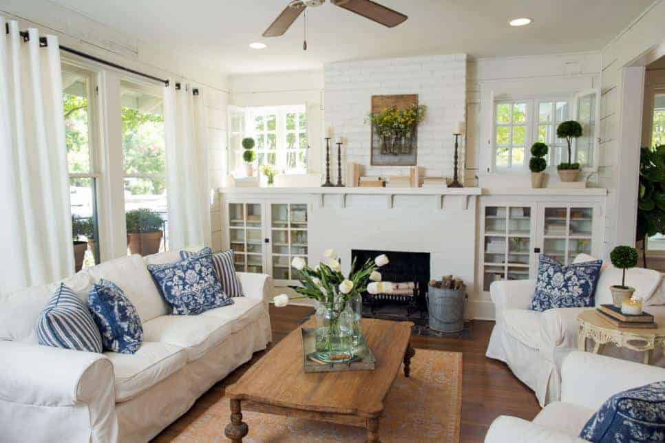 Fixer Upper living room | Chatfield Court